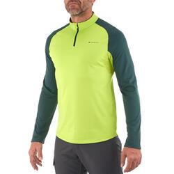 Heren T-shirt met lange mouwen Forclaz 100 Warm - 925923