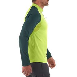 Heren T-shirt met lange mouwen Forclaz 100 Warm - 925926