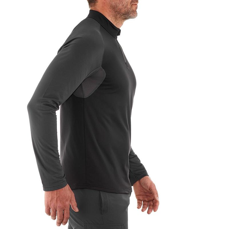 Men's T shirt SH100 (Full Sleeve) WARM - Black