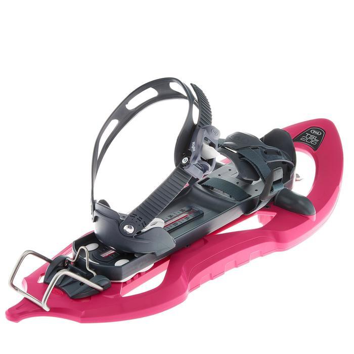 Raquettes à neige petits tamis 206 EVO rose - 92608