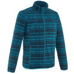 Heren fleece vest voor bergwandelen Forclaz 200