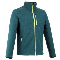 Men's Mountain Walking Fleece Jacket MH300 - Blue.