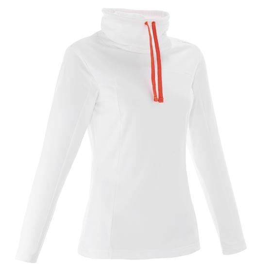 Dames T-shirt met lange mouwen voor trekking Forclaz 100 Warm - 926436