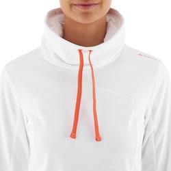 Dames T-shirt met lange mouwen voor trekking Forclaz 100 Warm - 926444