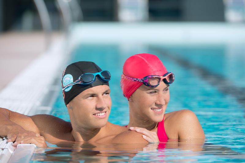 Lentes de natación XBASE PRINT Talla L Mika Azul
