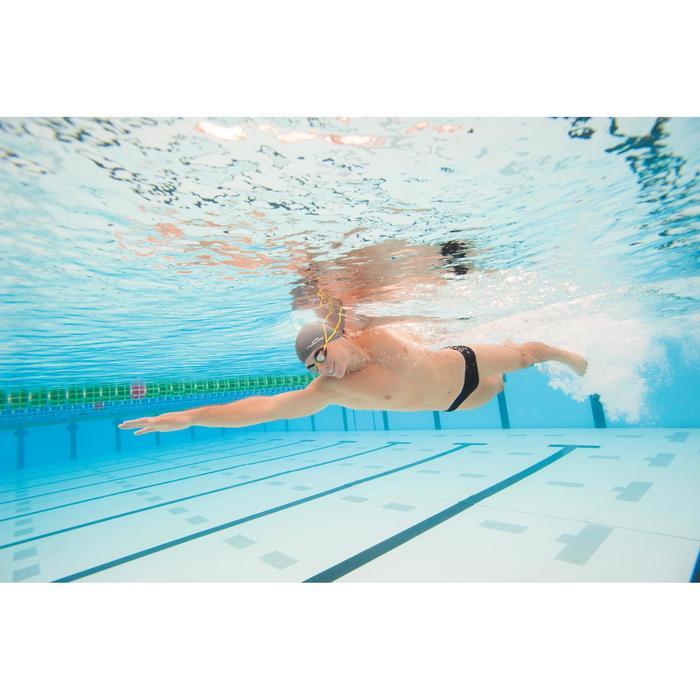 Zwembroek heren zwemmen slip 900 Plus zwart