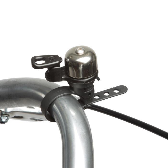 Fahrradklingel 500 Mini silber
