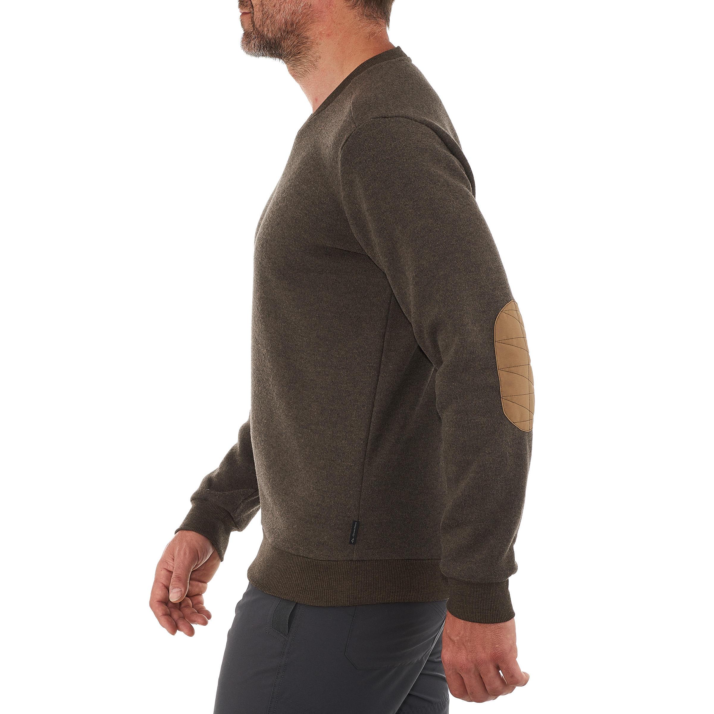 Chandail de randonnée nature homme NH150 marron
