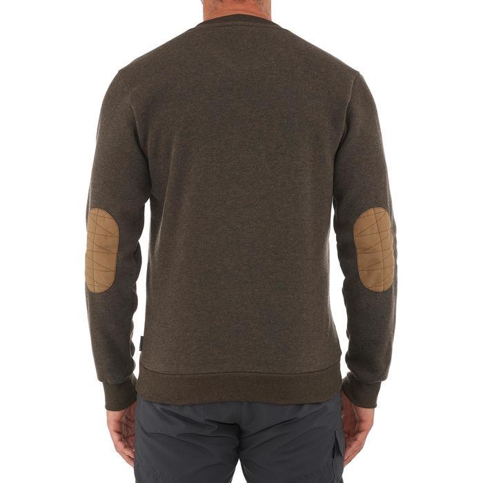Jersey de senderismo en la naturaleza para hombre NH150 marrón