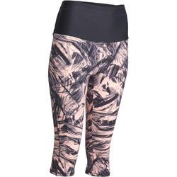 Fitnesskuitbroek Shape met plattebuikeffect voor dames - 926623