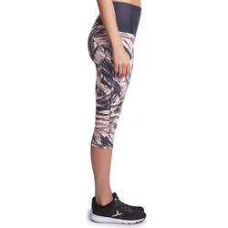 Fitnesskuitbroek Shape met plattebuikeffect voor dames - 926625