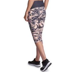 Fitnesskuitbroek Shape met plattebuikeffect voor dames - 926626