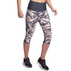 Fitnesskuitbroek Shape met plattebuikeffect voor dames - 926627