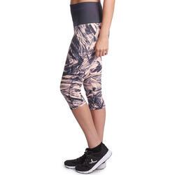 Fitnesskuitbroek Shape met plattebuikeffect voor dames - 926628