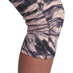 Fitnesskuitbroek Shape met plattebuikeffect voor dames - 926630