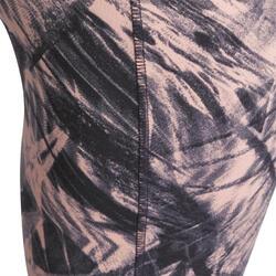 Fitnesskuitbroek Shape met plattebuikeffect voor dames - 926631