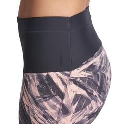 Fitnesskuitbroek Shape met plattebuikeffect voor dames - 926632