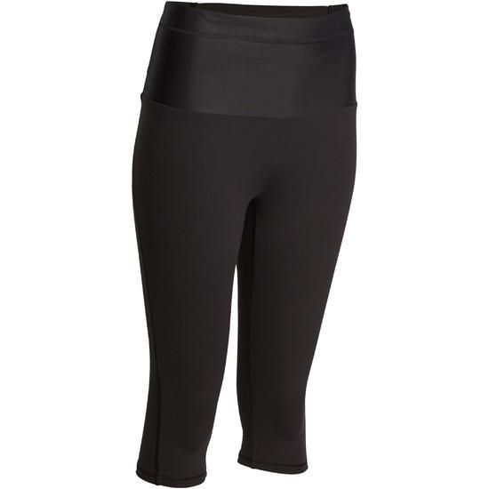 Fitnesskuitbroek Shape met plattebuikeffect voor dames - 926634