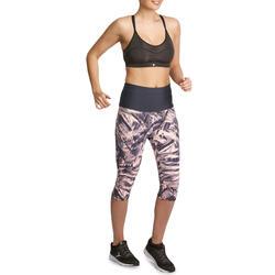 Fitnesskuitbroek Shape met plattebuikeffect voor dames - 926636
