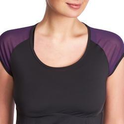 Figuurcorrigerend fitness T-shirt Shape+ voor dames - 926769