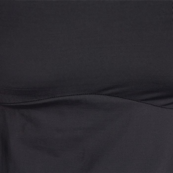 T-shirt galbant SHAPE+ fitness femme noir et violet - 926772