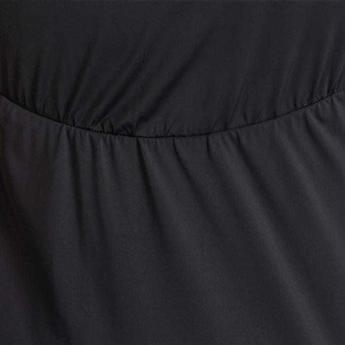 T-shirt galbant SHAPE+ fitness femme noir et violet - 926773