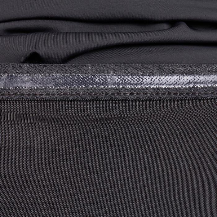 T-shirt galbant SHAPE+ fitness femme noir et violet - 926777