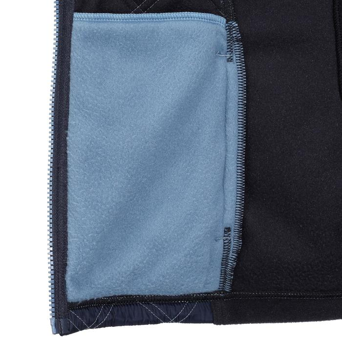 Damesfleece Performer ruitersport marineblauw