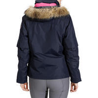 Tosca 1 Women's Horse Riding Warm Waterproof Jacket - Navy Blue