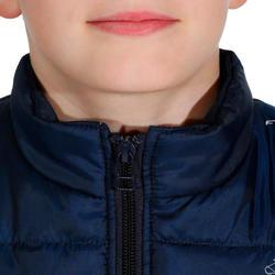 Bodywarmer Safy voor kinderen ruitersport felroze - 927716