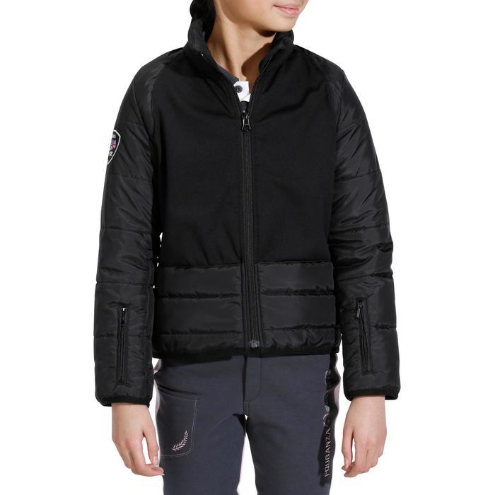 Veste équitation enfant Safy noir - 927933