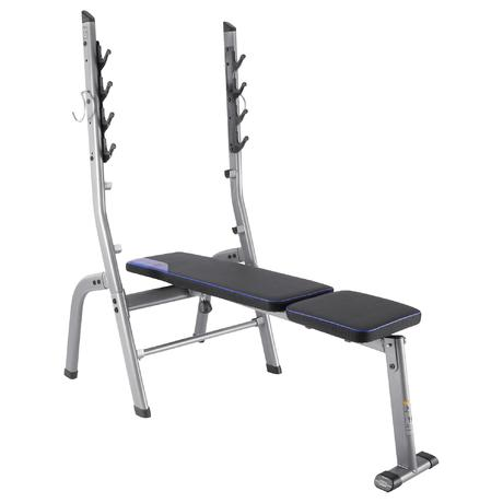 100 Weight Bench Domyos By Decathlon