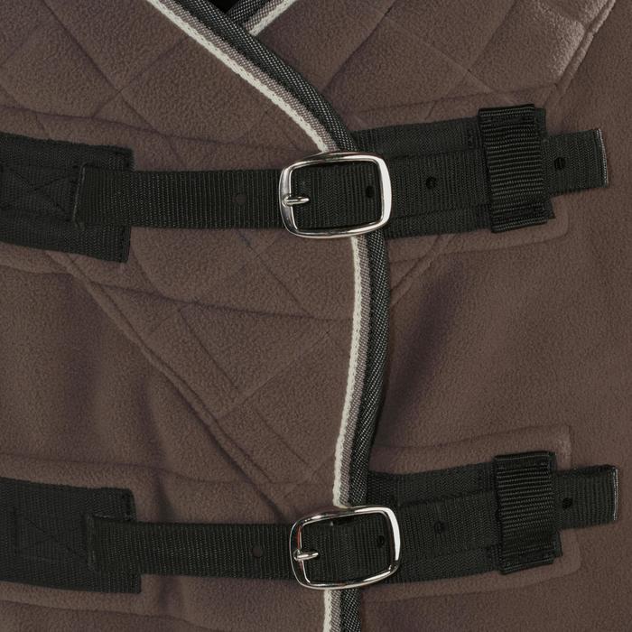 Chemise d'écurie équitation POLAR 500 marron -  poney et cheval - 928025