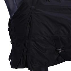 Buitendeken Allweather 200 600D ruitersport zwart - maat paard - 928102