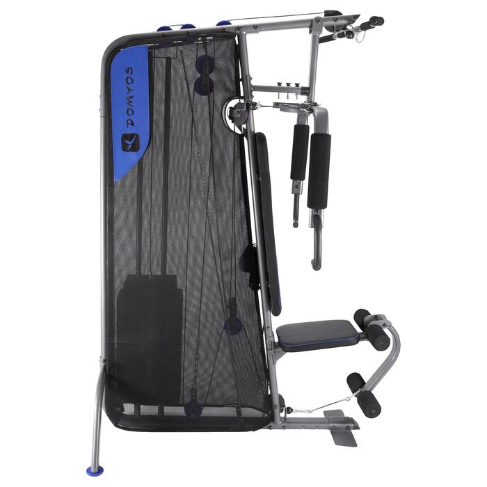 Appareil à Charge Guidée Home Gym Compact Musculation - 92910