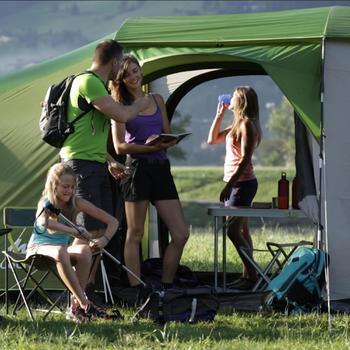 Tente de camping familiale Arpenaz 8.4 xl  | 8 personnes - 929337
