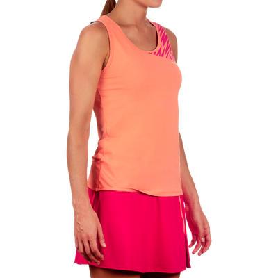 Soft Women's Tennis Badminton Table Tennis Squash Padel Tank Top - Orange