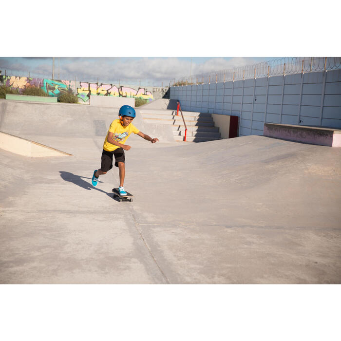 MF 7 Skate Skateboard Scooter Bike Helmet - Blue/Orange - 93037