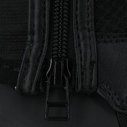 100 Mesh Children's Horse Riding Half Chaps - Black