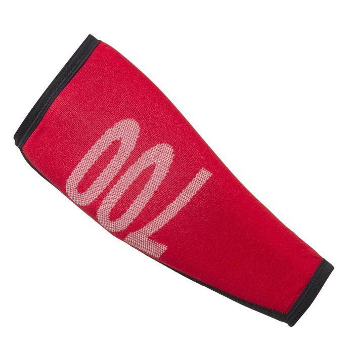 Armbeschermer Club 700 boogschieten rood/zwart