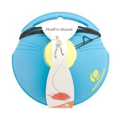 Module d'entraînement de tennis « Ball is back » Bleu