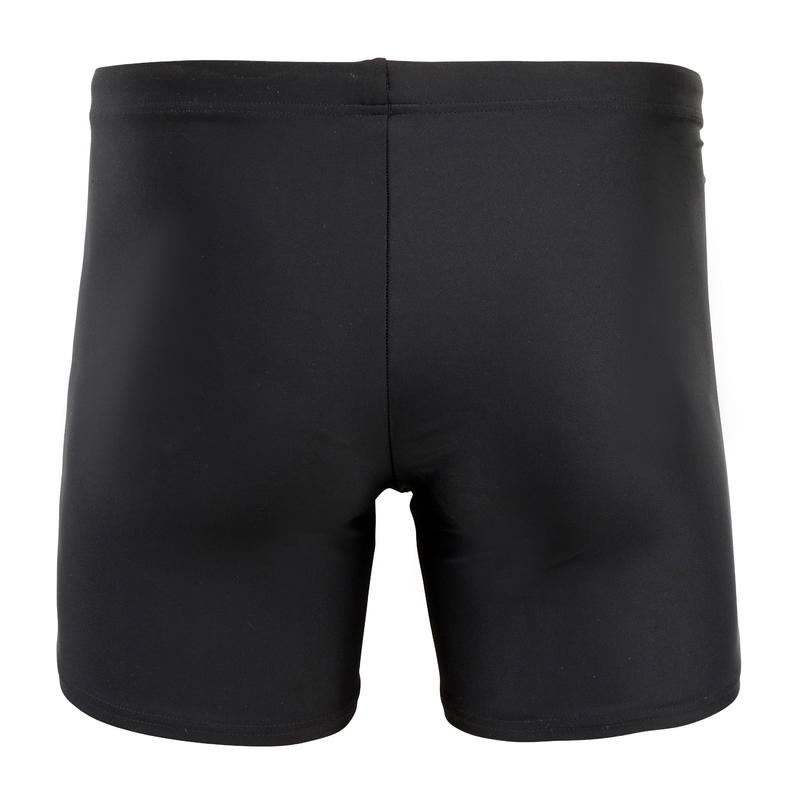 LONG BOXER SWIMSUIT 100 - BASIC BLACK