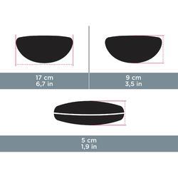 Brillenetui halbstarr Neopren Case 500 S schwarz