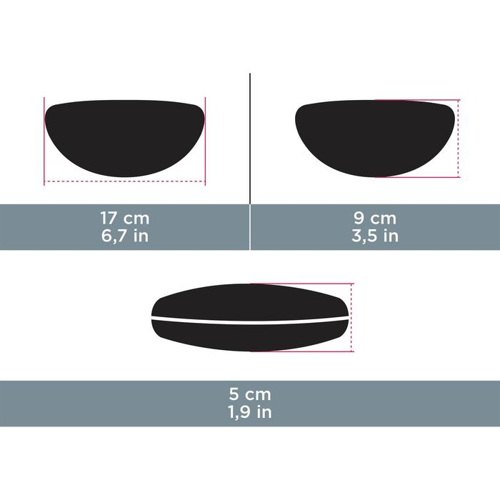 Etui semi rigide néoprène pour lunettes CASE 500 noir - 931123