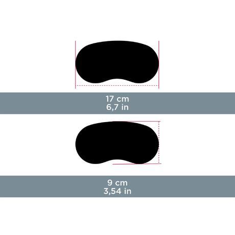 Etui semi rigide néoprène pour lunettes CASE 500 S noir   Quechua de1845a13e7a
