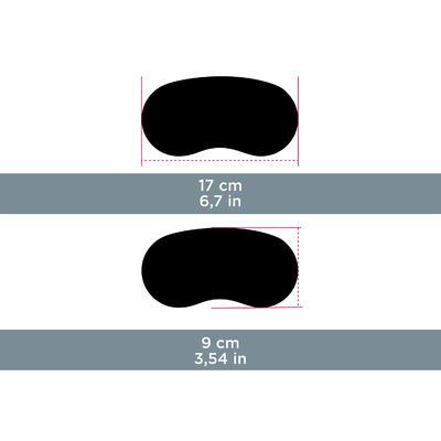 Etui semi rigide néoprène pour lunettes CASE 500 S noir