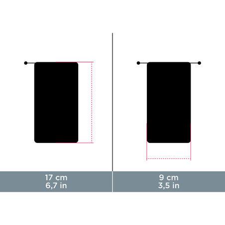 Funda De Tela Para Lentes De Sol Montaña MH ACC 120  Limpiadora Microfibra Negro