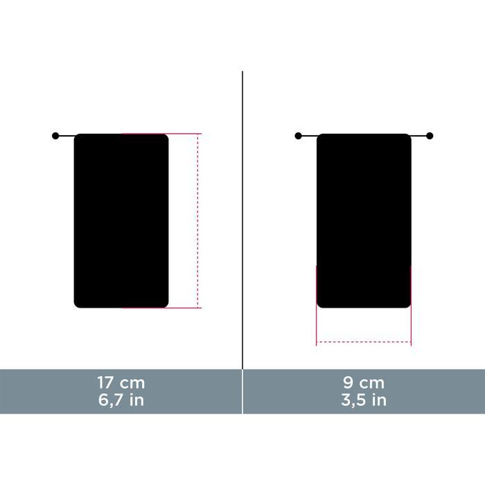 Brillenetui aus Stoff & Mikrofaser-Brillenputztuch Case 120 rosa