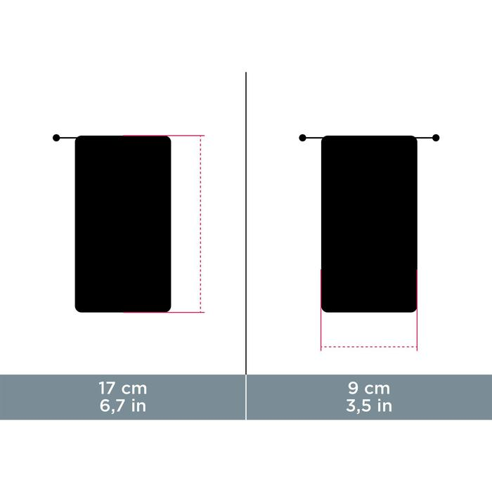 Etui tissu nettoyant microfibre pour lunettes CASE 120 - 931128