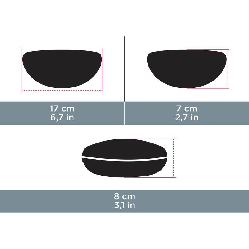 Estuche termoformado de neopreno para lentes CASE 700 HARD negro